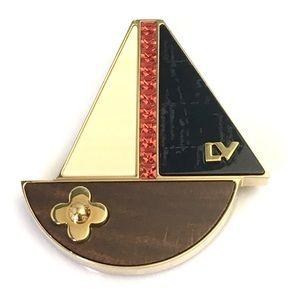 Louis Vuitton Sailboat Pin